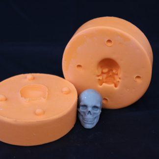 molde de crânio